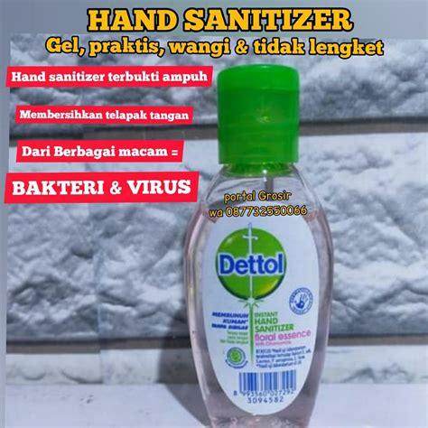 jual promo dettol fresh instan hand sanitizer sabun dettol antiseptik dettol antibakteri unik