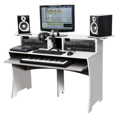 cheap studio desks workstations white workbench