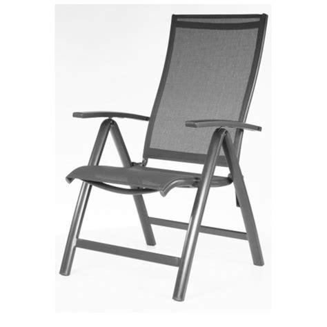 fauteuil de jardin en alu multipositions elegance taupe