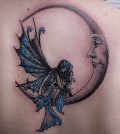 Moon and night sky tattoos moon tattoos designs for girls
