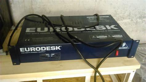 Mixer Behringer Mx3282 behringer eurodesk mx3282 image 952102 audiofanzine