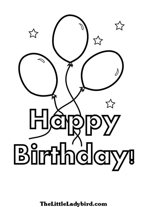 happy birthday coloring pages easy happy birthday coloring pages 2018 dr odd