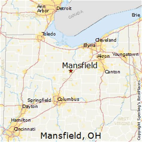 best places to live in mansfield, ohio