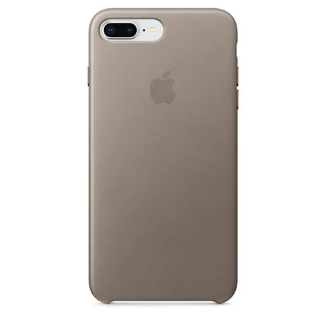 iphone     leather case taupe apple uk