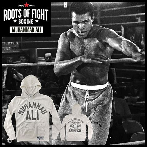 Muhammad Ali Back To His Roots by Roots Of Fight Muhammad Ali Live As A Ch Hoodie