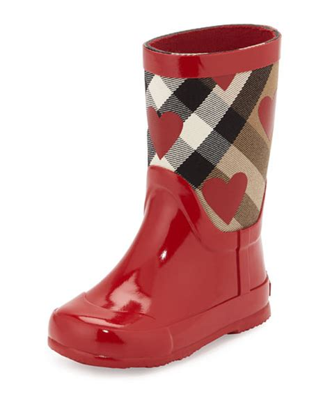 toddler rubber boots burberry ranmoor print rubber boot toddler
