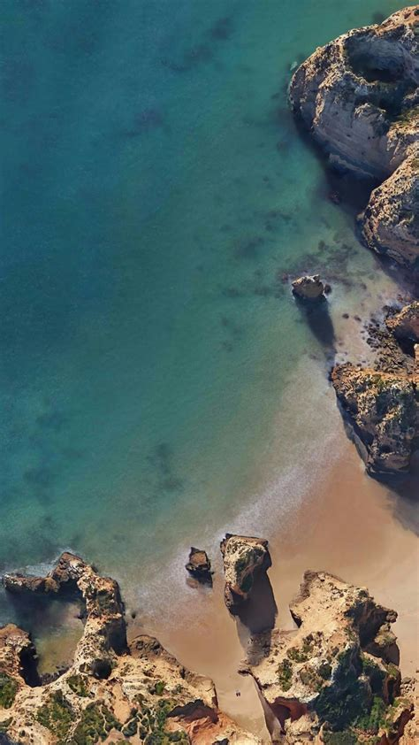 wallpaper lagos portugal google pixel  android