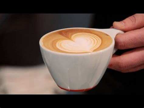 how to make designs on coffee how to make a latte art heart perfect coffee youtube