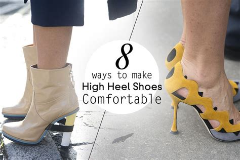ways to make high heels more comfortable 上班必讀 8個 舒服穿 高跟鞋貼士 hk