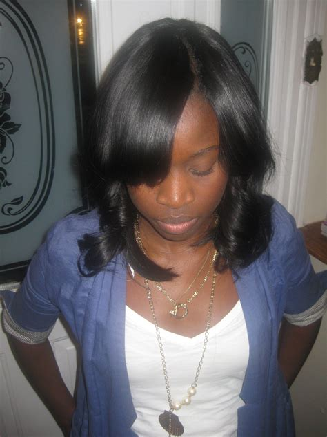 partial sew in weave hairstyles long weave hairstyles with invisible part www pixshark