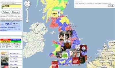 maps mania: the uk election on google maps