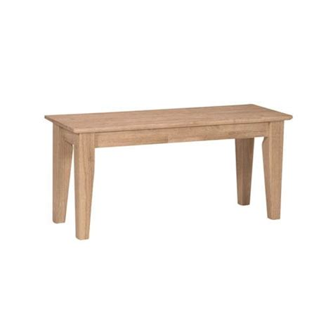 unfinished wooden bench unfinished wood bench bellacor