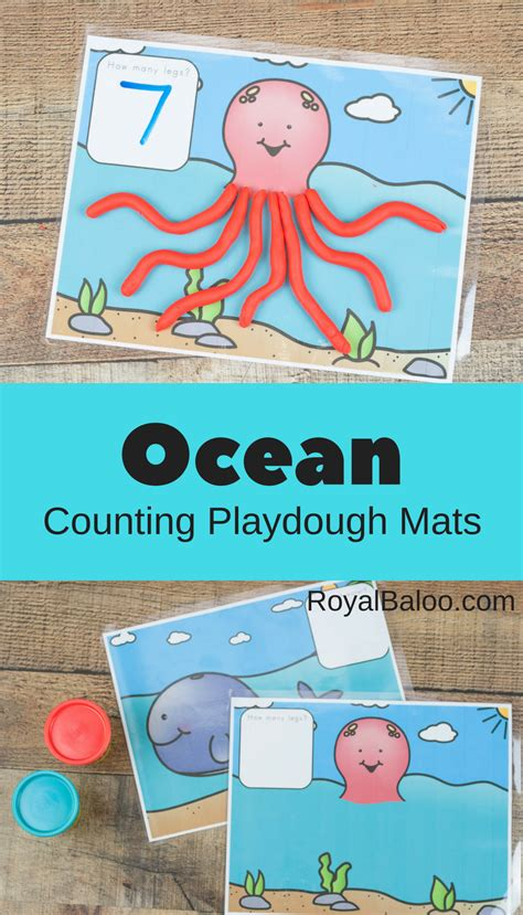 Playdough Math Mats by Playdough Math Mats For Counting And Addition