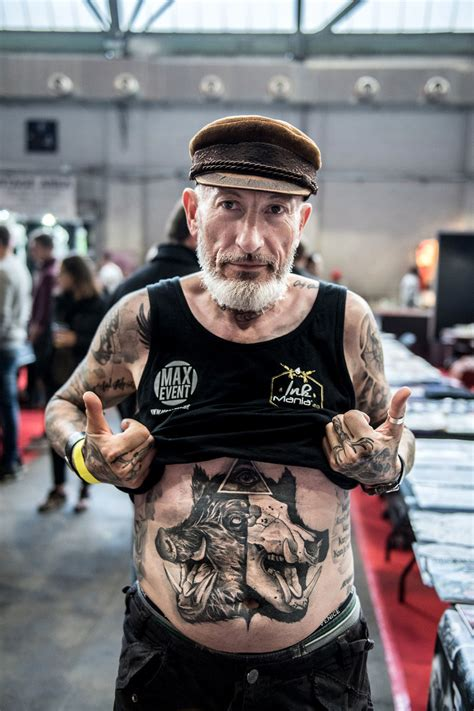 tattoo shows the international brussels convention 2017