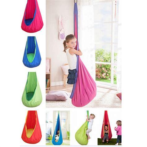 kids swing hammock 1 pc baby inflatable hammock kids swing chair indoor