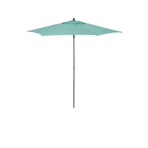 7 5 patio umbrella 7 5 ft patio umbrella in uts00203e haz the home depot