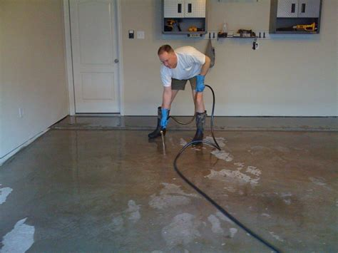 Sealed Garage Floor by Tutorial How To Seal Your Garage Floor