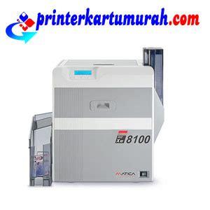 Printer Kartu matica xid8100 printer kartu printer id card cetak