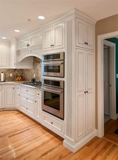 custom built kitchen  pridecraft narrow pantry  cabinets  reeded columns cherry