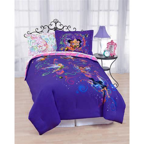 fairy comforter disney fairies tink garden comforter walmart com