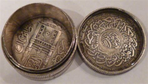 Expedition 6645 Silver miscellaneous silver coin box made of silver rupees