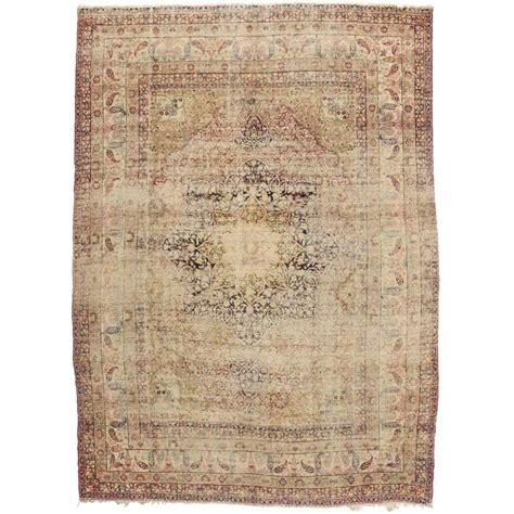 kermanshah rugs distressed antique kermanshah rug with modern industrial style for sale at 1stdibs