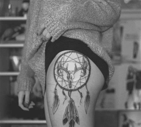 dreamcatcher tattoo black and white 60 dreamcatcher tattoos to keep bad dreams away