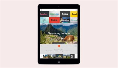 themes voice mobile adobe voice app for apple ipad arrives for video