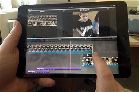 tutorial imovie ipad mini ipad mini it s a productivity tool too the mac observer