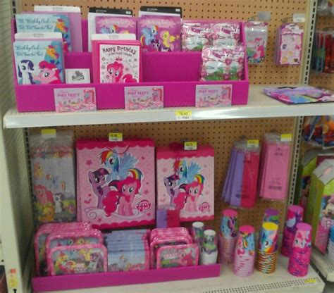 party themes walmart mlpfim pony party supplies at walmart finally