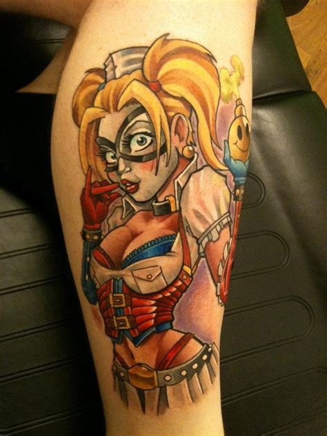 pin up girl tattoos for men harley quinn pin up mat lapping the best pin up