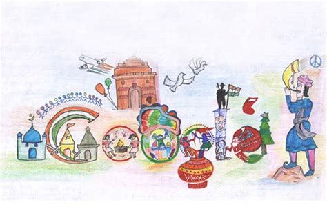 doodle 4 india 2012 unity in diversity doodle4google news on doodle4google read breaking