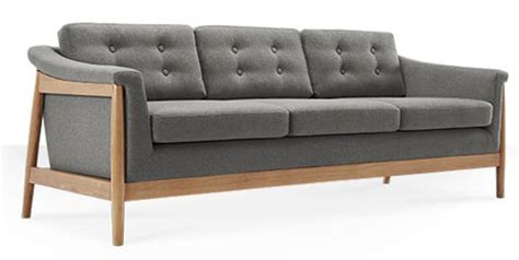 scandinavian style sofas scandinavian style tarnby sofas at swoon editions retro