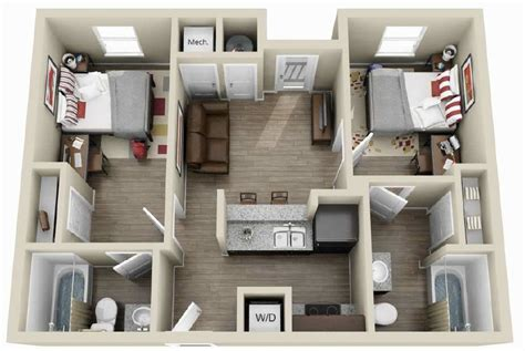 2 bedroom apartments in austin floorplans the g austin