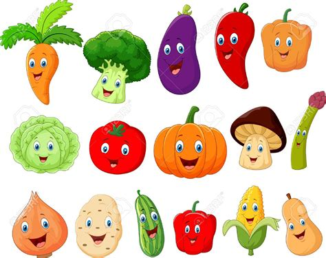 imagenes tiernas vectorizadas 42124730 cute vegetable cartoon character stock vector