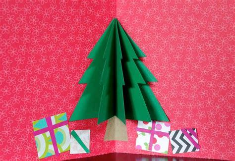tarjeta con el 225 rbol de navidad pop up artividades