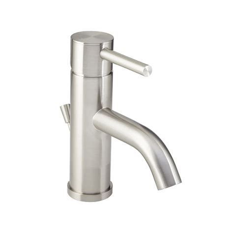 Who Makes Mirabelle Faucets by Faucet Mirwsed100pbn In Brushed Nickel By Mirabelle
