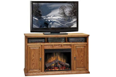 62 quot oak entertainment unit fireplace