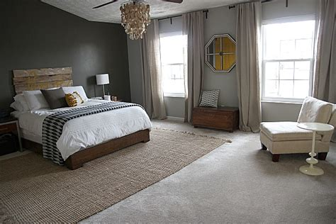 where to put a rug in a bedroom house tweaking