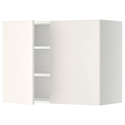 ikea cabinet shelf metod wall cabinet with shelves 2 doors white veddinge