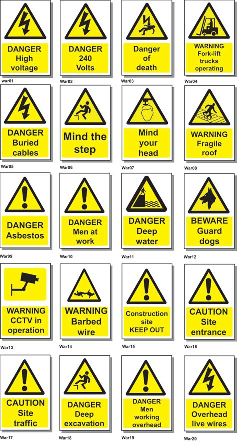 Warning Signs After Section by Warning Signs 21st Century Signs And Designs
