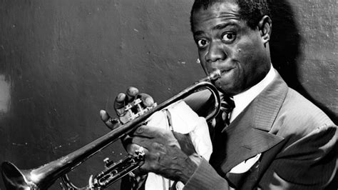 biography of jazz music louis armstrong trumpet player singer biography com
