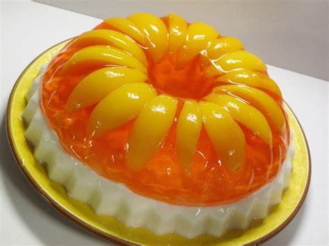 retro recipe peaches cream jello guest post from victoria belanger the jello mold mistress