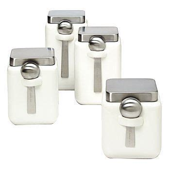square kitchen canisters 7 best images about kitchen canisters on