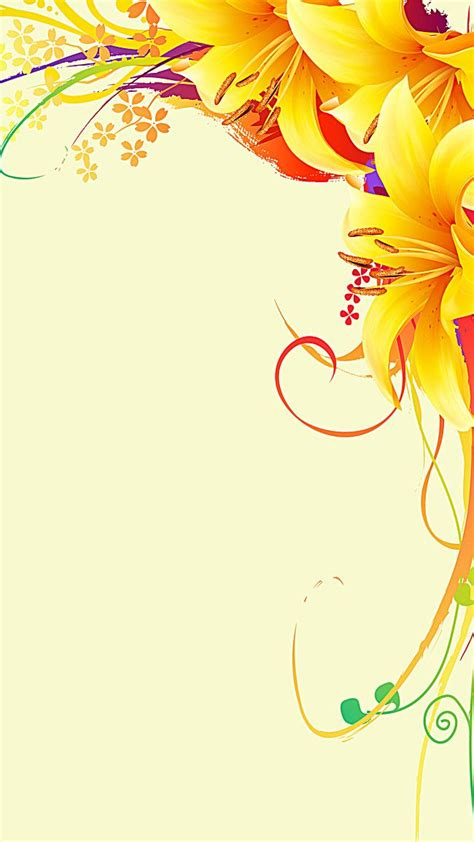 yellow flowers border background  images flower
