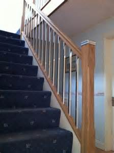 Banister Spindles Replacement Before Amp After Gallery Staircase Replacements Wirral