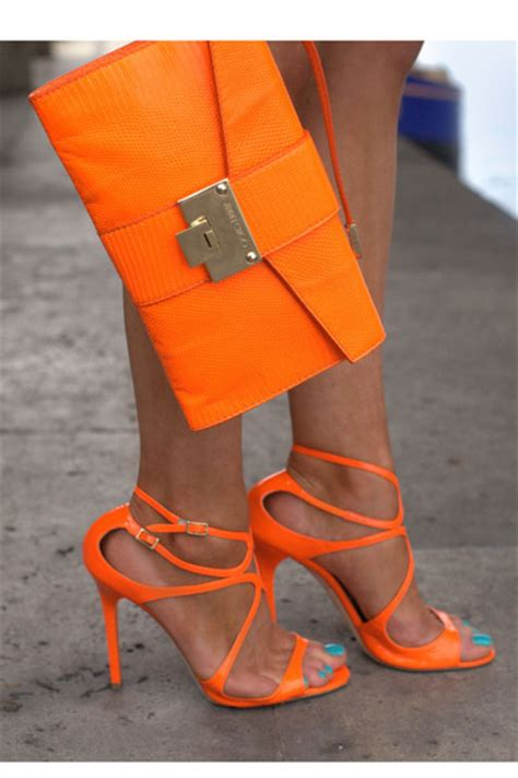 Bright Totes By Zagliani At Matches by Carrot Orange Leather Jimmy Choo Bags Carrot Orange