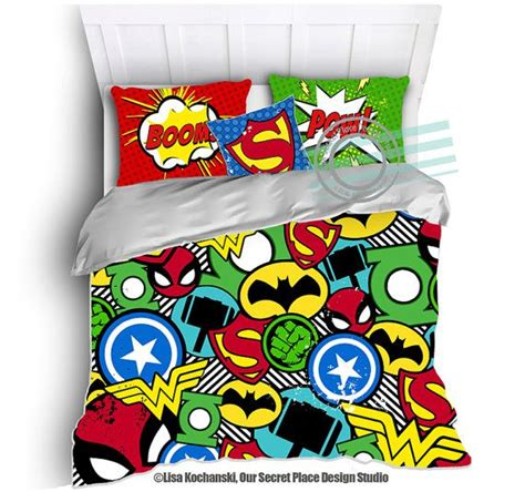 superhero comforter twin superhero bedding for boys bedding twin by oursecretplace