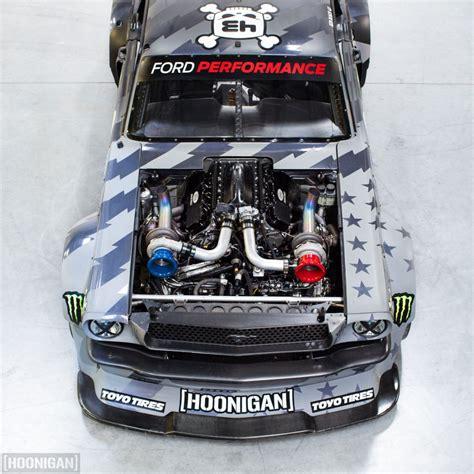 hoonigan mustang engine ken block s hoonigan v2 1400hp mustangby cars