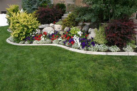 how to design a flower bed landscaping labrie property maintenance and landscaping